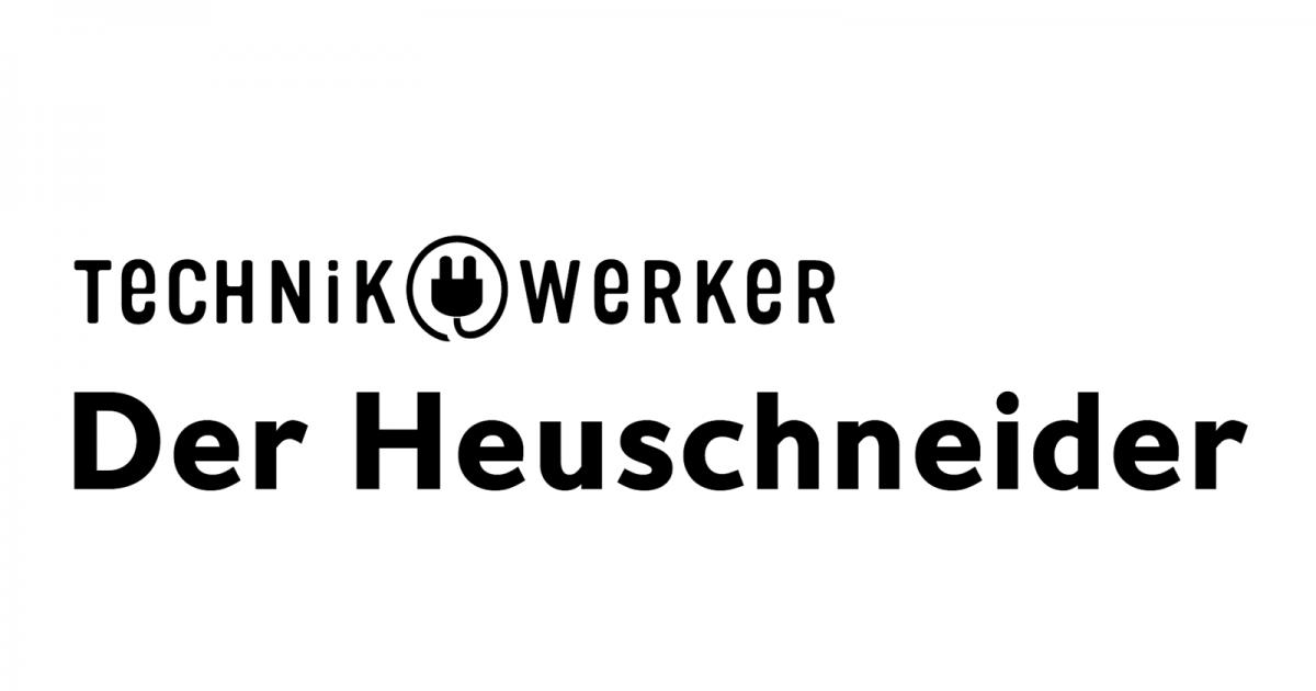 Logo Text Technikwerker auf Weiß