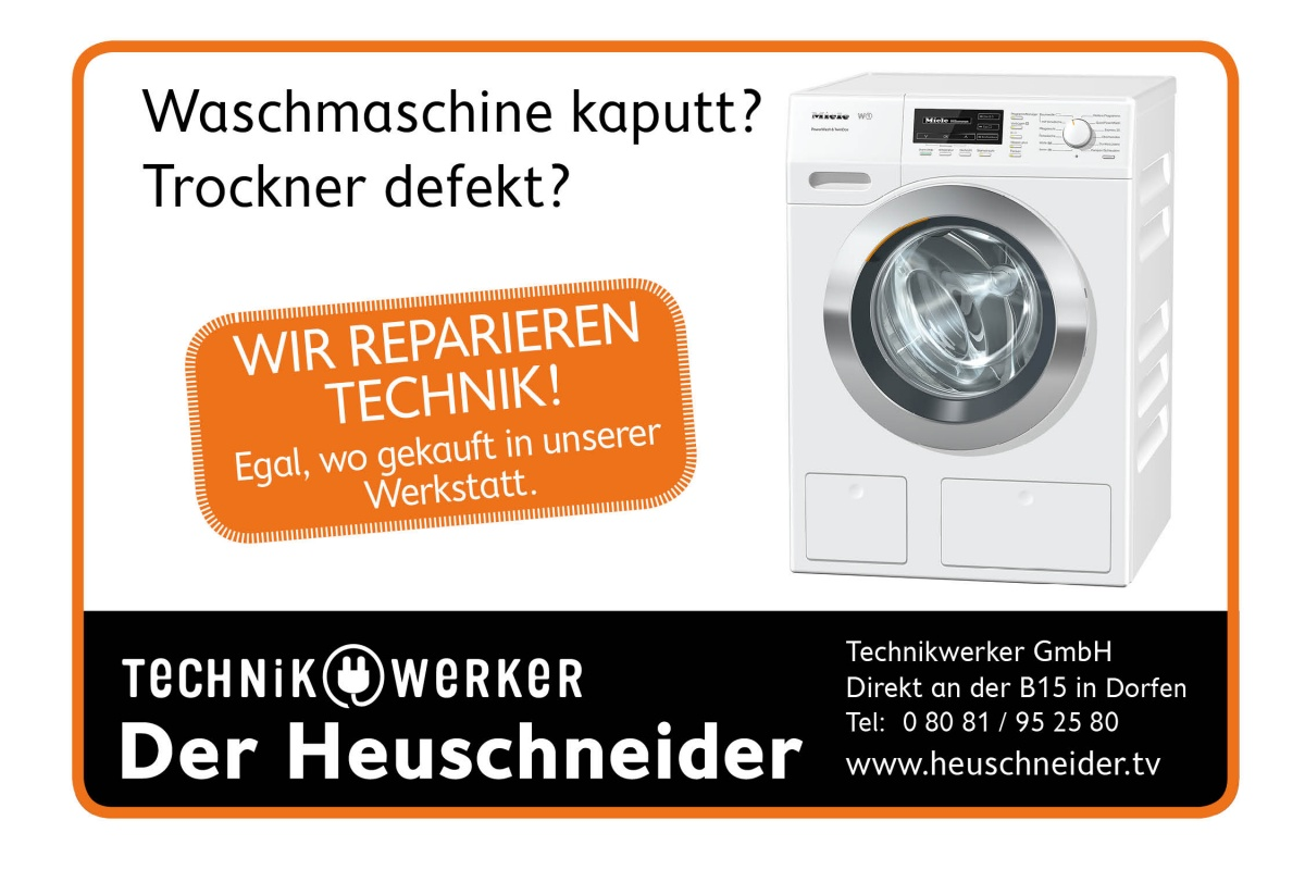 Technikwerker Waschmaschine und Trockner